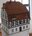 Modell des Tuchmacherhauses